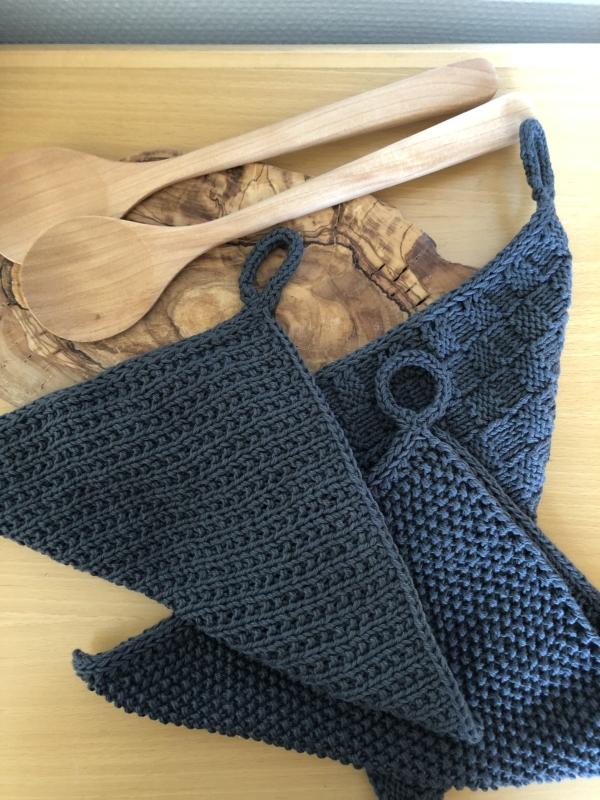 strikket klude, karklude
