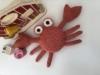hæklede krabbe